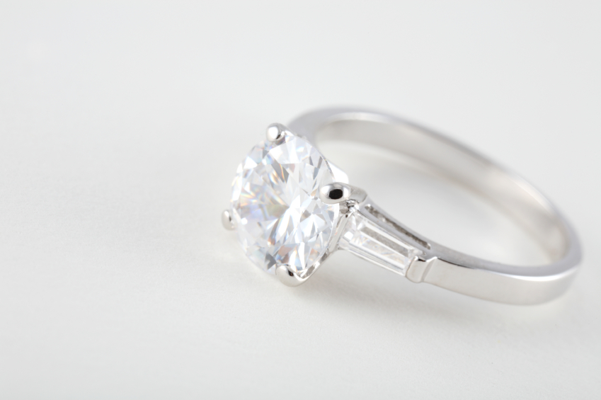 platinum diamond engagement ring 2