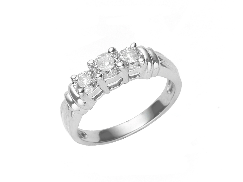 White Gold Diamond Engagement Ring Engagement Rings Pictures